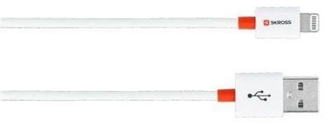 Skross Lightning-USB kabel 2m, bílá