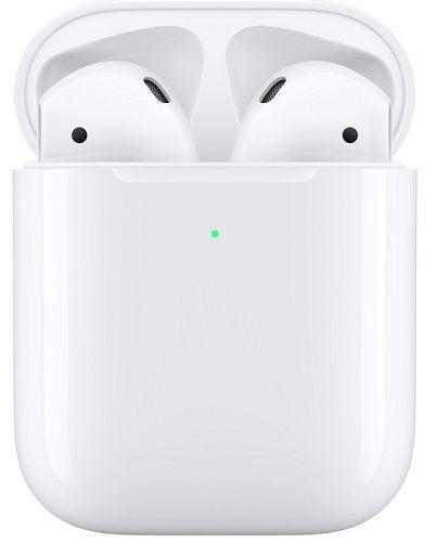 Apple AirPods bílé sluchátka s bezdrátovým nabíjecím pouzdrem