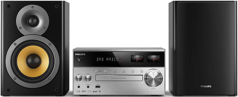 Philips BTB8000 černo-stříbrný
