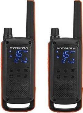 Motorola Talkabout T82, oranžovo-černá