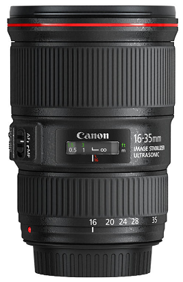 Canon EF 16-35mm f/4,0L IS USM
