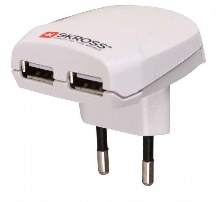 Skross SKRWA10USB adaptér na 2x USB