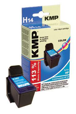 KMP H14 komp.recykl.náplň C8728AE