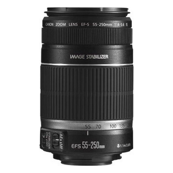 Canon EF-S 55-250mm f / 4-5.6 IS