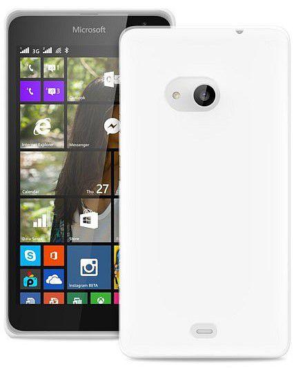 Puro zadní kryt pro Microsoft Lumia 535 + fólie