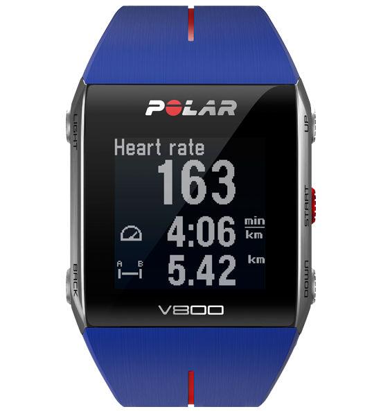 Polar V800 HR (modré)