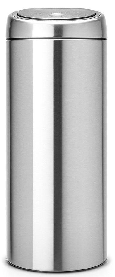 BRABANTIA 378669, dotykový koš 30L matná ocel