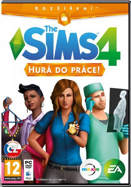 PC - The Sims 4 - Hurá do práce (EP1)