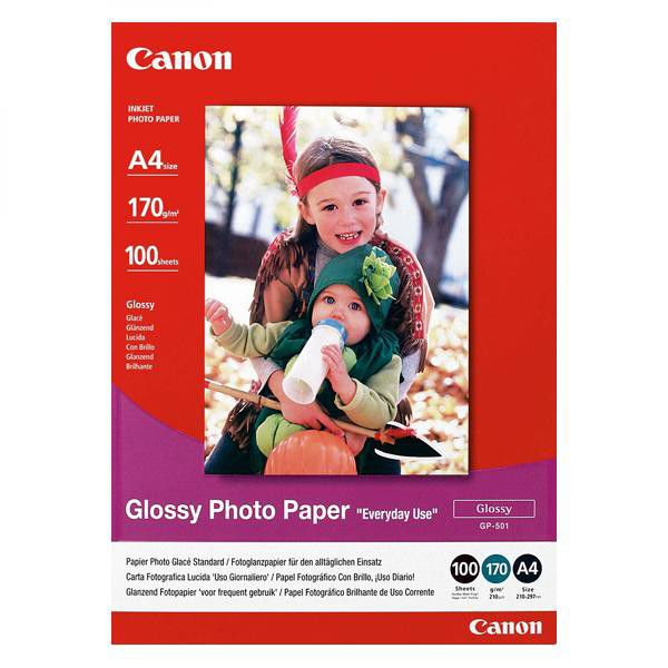 Canon Glossy Photo Paper A4 100ks GP-501 - fotopapír