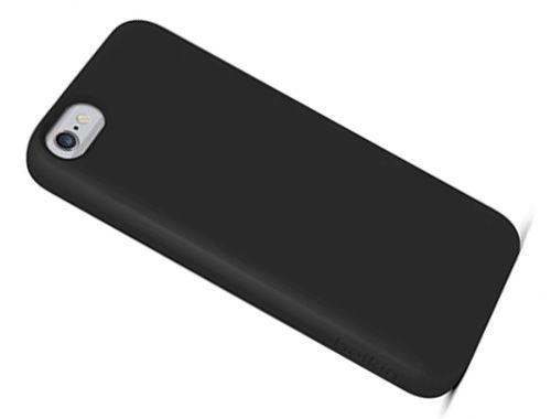 MobilNet slim plastové pouzdro pro iPhone 6 (černé)