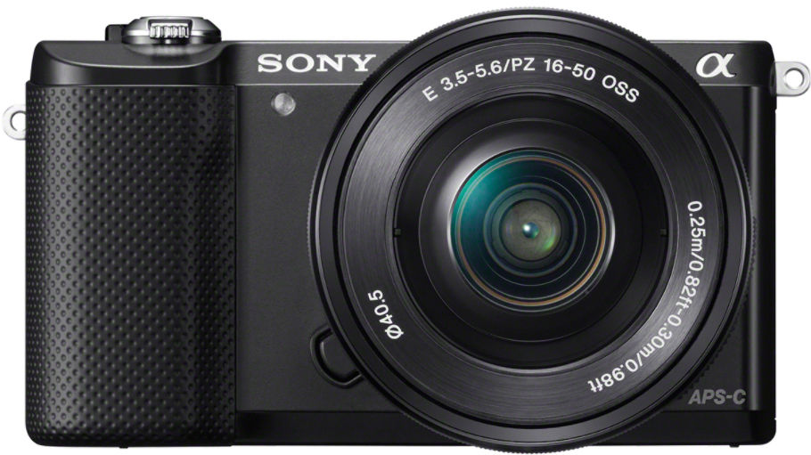 Sony Alpha A5000 + 16-50 PZ (černý)