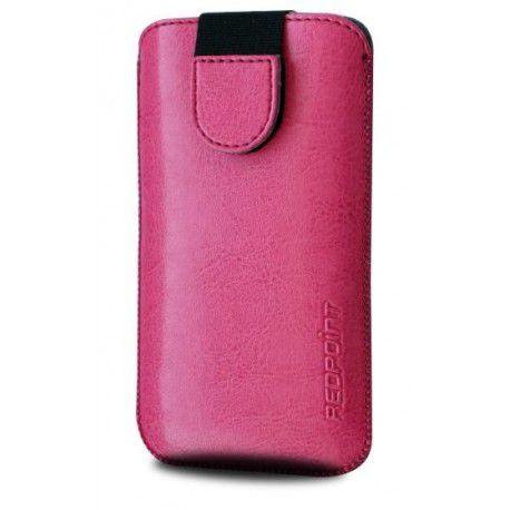 Redpoint Soft Slim se zavíráním, PU kůže, 5XL (růžové)