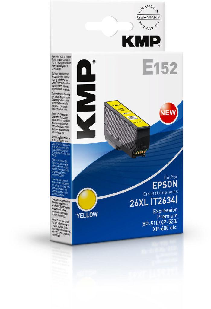 KMP E152 (T2634) 26XL Epson (žlutá)