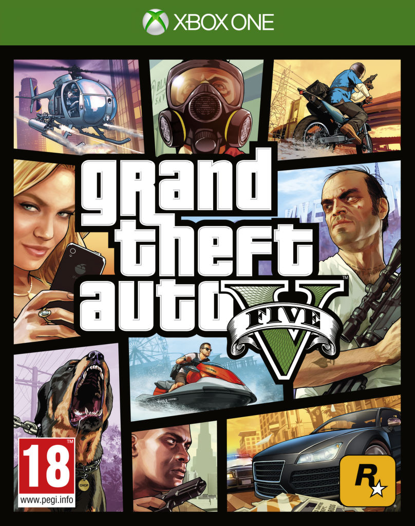 Grand Theft Auto V, GTA 5 - pro Xbox ONE