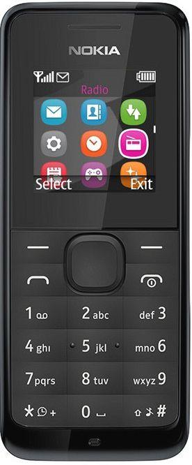 Nokia 105 Dual SIM černý
