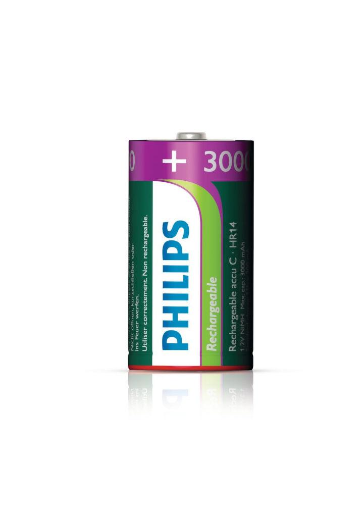 Philips MultiLife 3000mAh C (HR14), 2ks