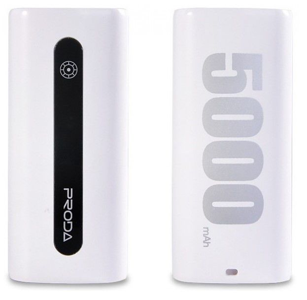 Remax AA-1057 E5 powerbanka 5000mAh (bílá)