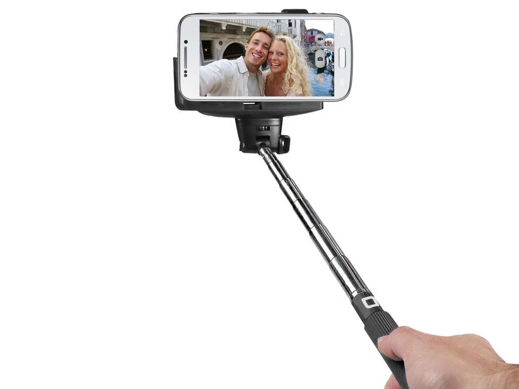 SBS bluetooth selfie tyč (černá)