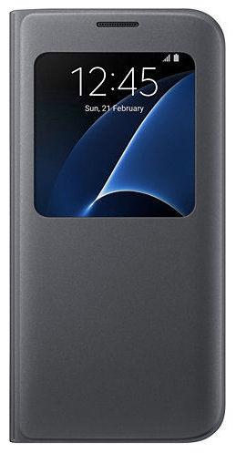 Samsung S View EF-CG935PB SG S7+ (černé)