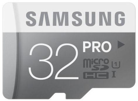Samsung 32 GB mikro SDHC PRO Class 10