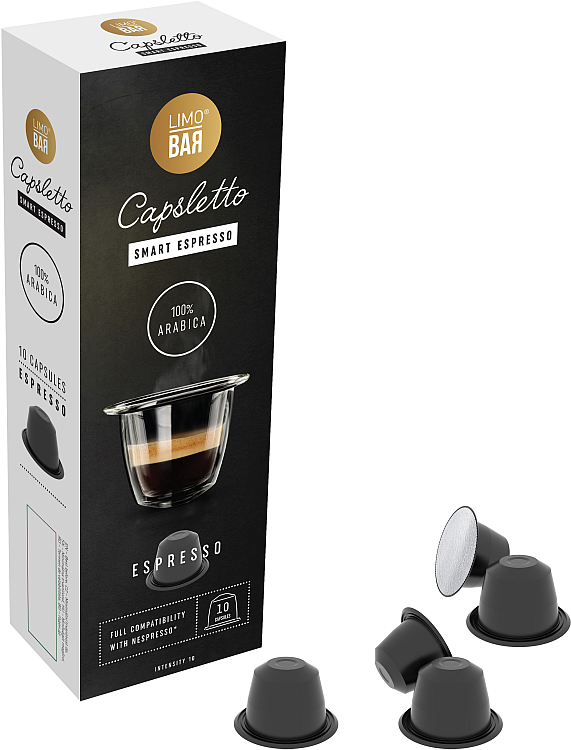 Limo Bar Capsletto Blend Espresso (10ks)
