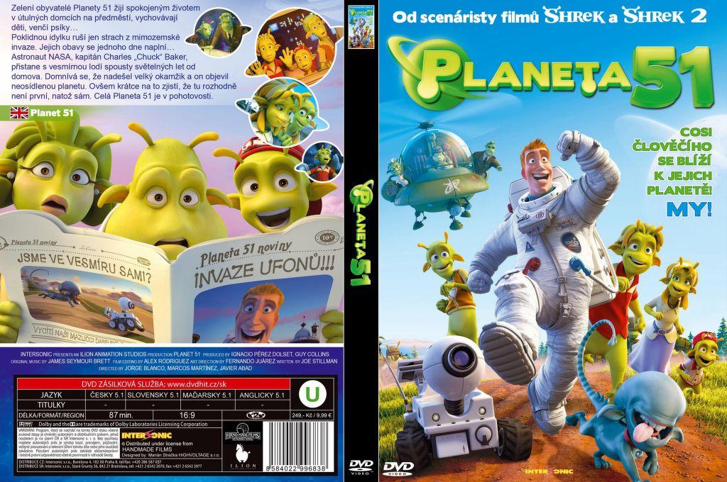 Planeta 51 - DVD film