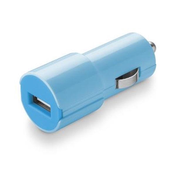 CellularLine Style&Color autonabíječka USB, 1A (modrá)