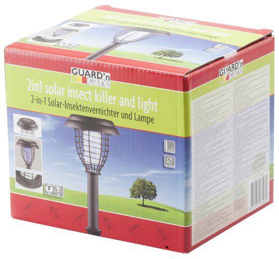 Guard'N Care GNC-96523 - hubič hmyzu a solární světlo 2v1