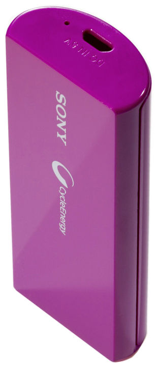 Sony CP-V3V (fialová) - 3000 mAh power bank
