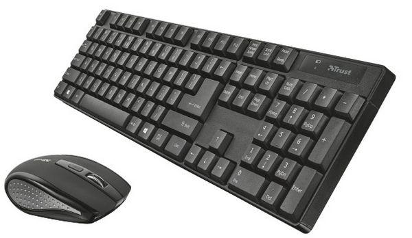 Trust Ximo Wireless CZ/SK - klávesnice & myš