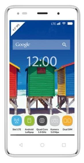 MyPhone Q-Smart LTE biely