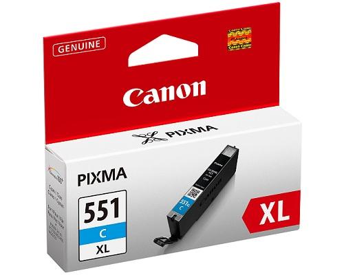 Canon CLI-551C XL cyan - inkoustová náplň