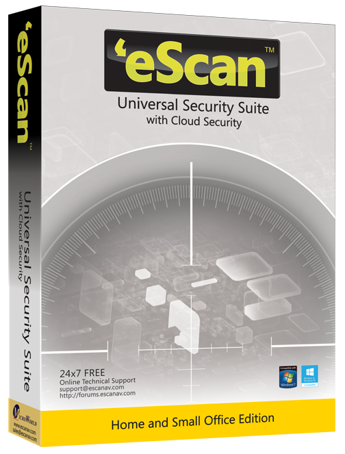 eScan Universal Security Suite 5/12, ES-UNI-5-1Y