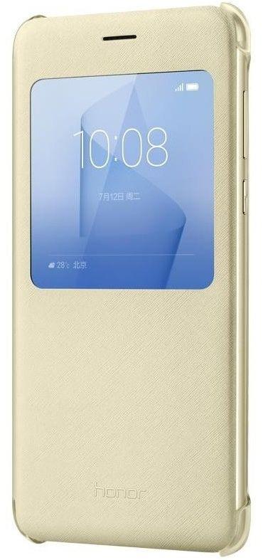 Huawei flipové pouzdro pro Honor 8 (zlaté)