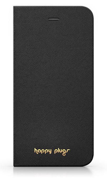 Happy Plugs flipové pouzdro pro Apple iPhone 6 Plus (černé)