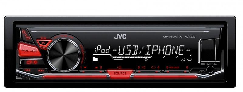 JVC KD X230