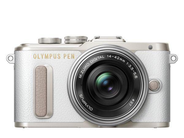 Olympus PEN E-PL8 + 14-42 EZ (bílo-stříbrný)