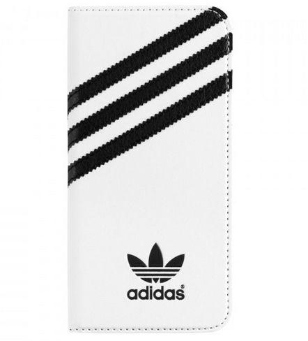 Adidas pouzdro pro Apple iPhone 6/6S - (bíločerný)
