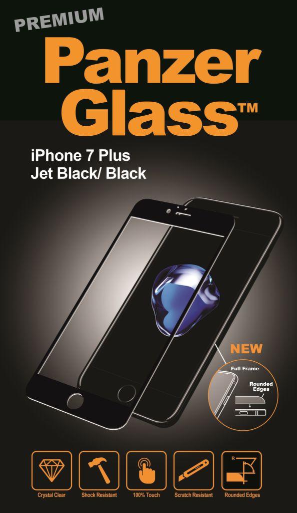 PanzerGlass pro iPhone 7 Plus Jet black