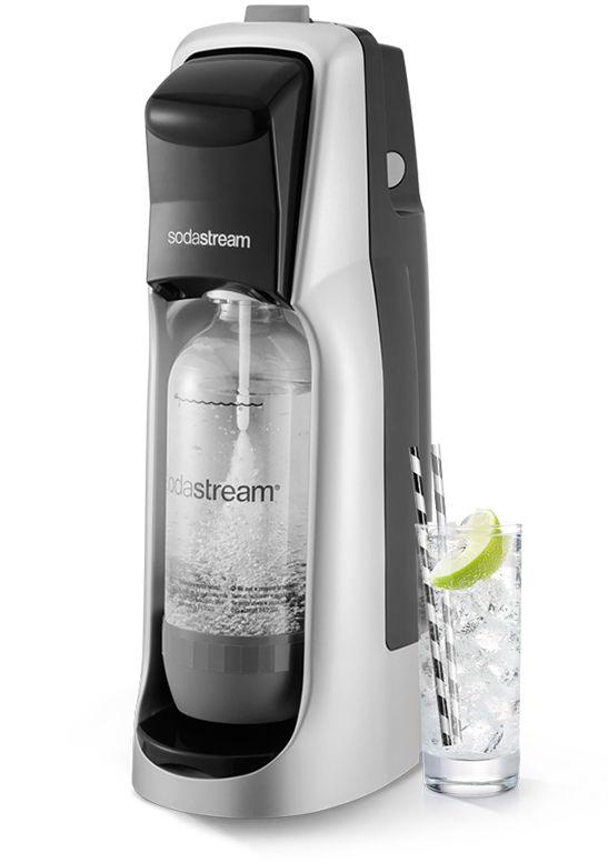 Sodastream Jet černá/stříbrná + dárek SodaStream Žížaláci Sada pro děti 2 lahve+dárky zdarma