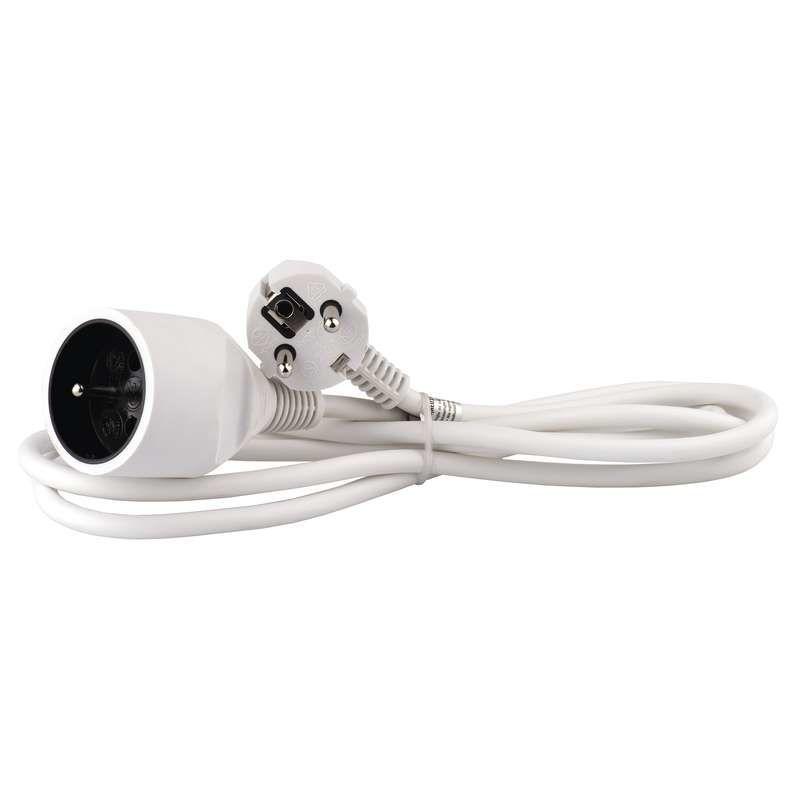 Emos P0112 - Prodlužovací kabel, 2m (bílý)
