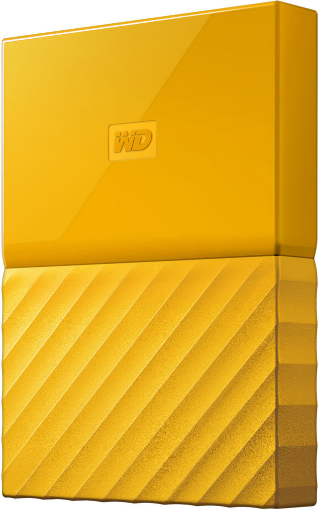 "WD My Passport 2,5 ""1TB USB 3.0 (žlutá)"