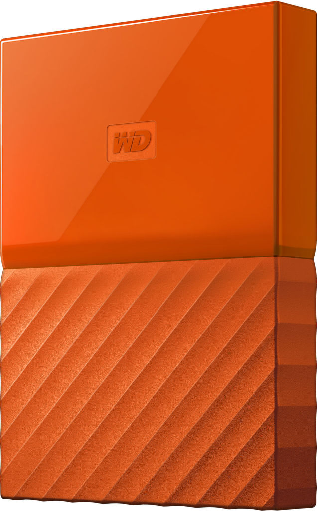 "WD My Passport 2,5"" 2TB USB 3.0 (oranžový)"