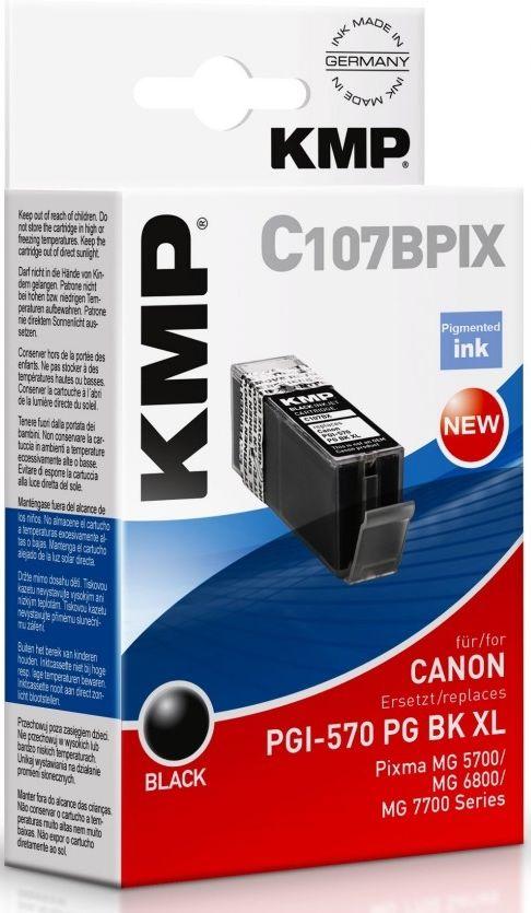 KMP C107BPIX XL černá