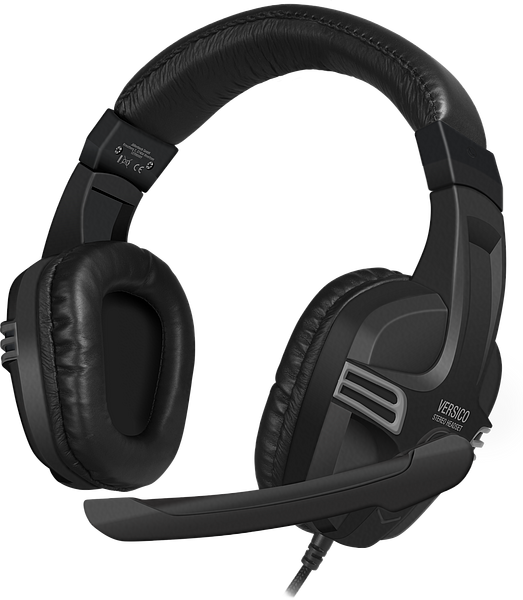 SPEEDLINK VERSICO, BLK-GRY, Headset