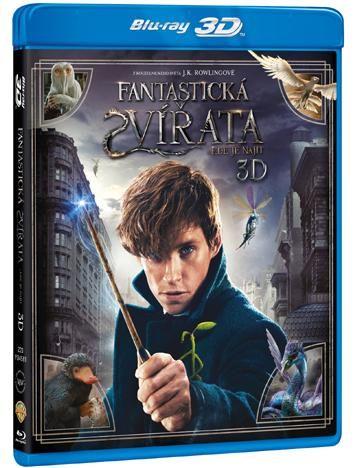 Fantastická zvířata a kde je najít - 3D Blu-ray film
