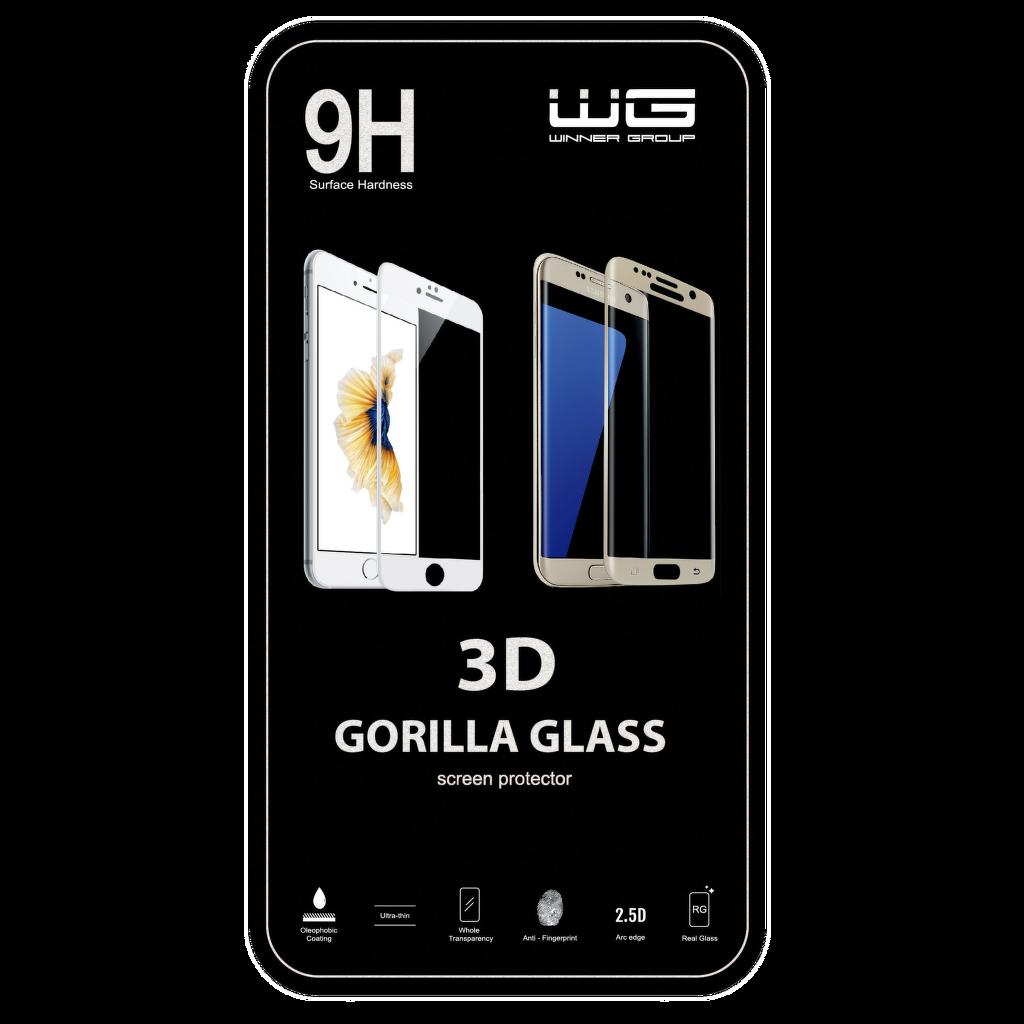 Winner iPhone 7 Plus černé 3D ochranné sklo