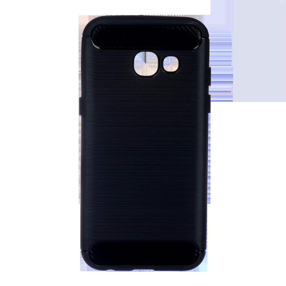 Winner Galaxy A3 2017 Carbon černé pouzdro na mobil