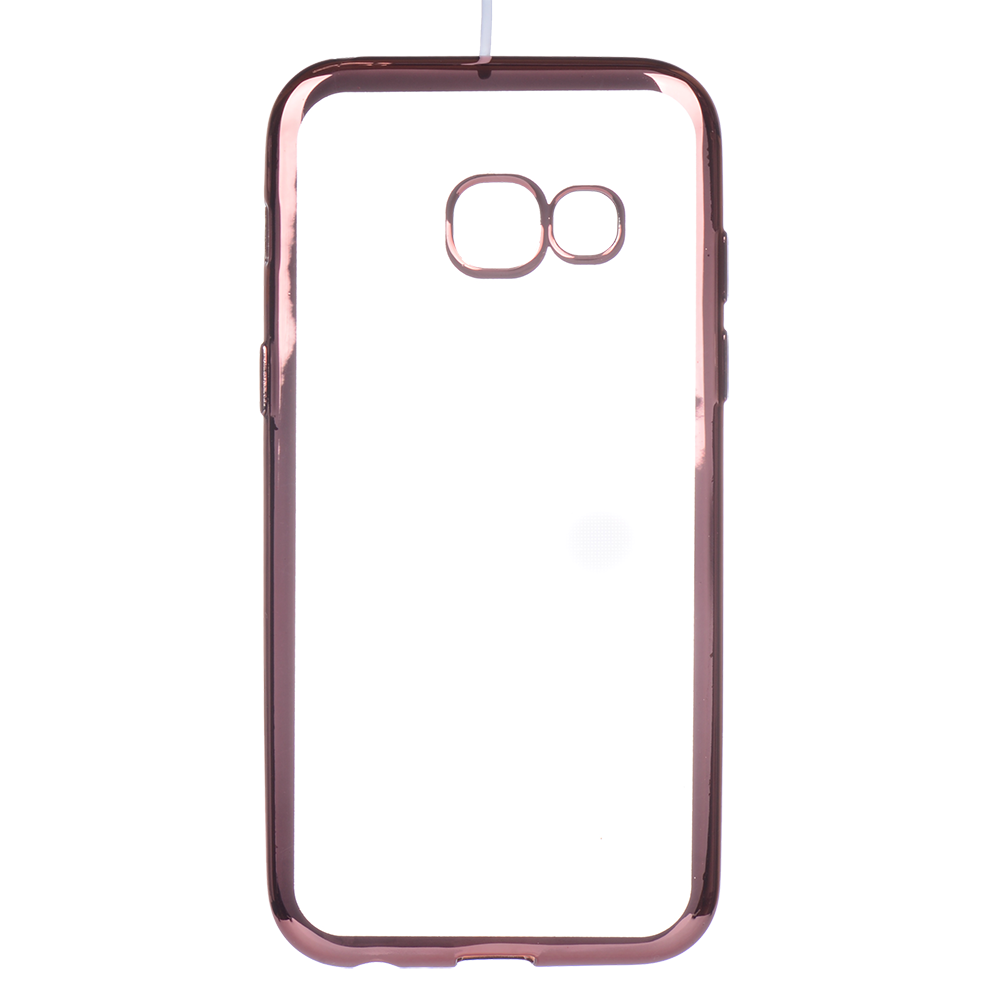 Winner Galaxy A3 2017 růžové pouzdro TPU laser