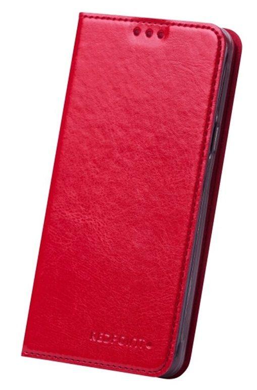 Redpoint Huawei P8 Lite červené knižkové pouzdro